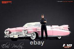 118 Elvis Presley figurine VERY RARE! NO CARS! For diecast by SF