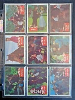 1956 Bubbles/topps Elvis Presley Complete 66 Card Set Ex/nm Rare