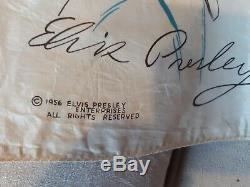 1956 Elvis Presley Scarf 30 x 28 Rare