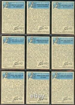 1956 Topps/Bubbles Elvis Presley Cards 66 Card Complete Set 6 EX/MT Rare