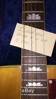 1969 Gibson Vintage J-200 Jumbo Acoustic Guitar MINT Elvis Presley's RARE Bridge