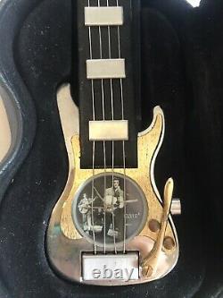 1996 Elvis Presley Wristwatch Watch The Wertheimer Collection It's Time/ Rare