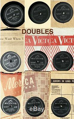 34 ELVIS records 78 rpm Collection many rares ones