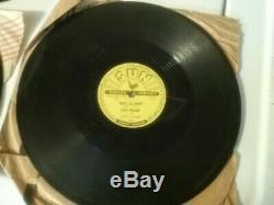 3 Elvis Presley 78 RPM with 3. Rare Sun 209 & 217 & 223