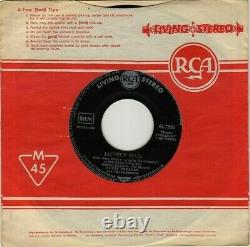 7 1961 Elvis Presley SURRENDER RCA 61-7850 RARE GERMAN LIVING STEREO 1st ED