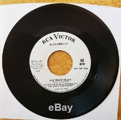99% MINT ULTRA-RARE 1s/1s PROMO ONLY Elvis Presley ROUSTABOUT SP45-139 10/64