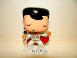 Authentic Funko Pop Rocks 1970s Elvis Presley #03 JUMPSUIT Vaulted Retired RARE