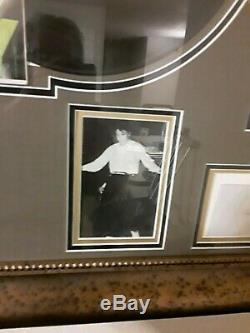 Autographed Elvis Presley Museum Quality 1st Album Cover/record Nm Rare Photos