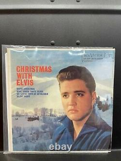 CHRISTMAS WITH ELVIS 7 EPNM-/NMrArE 58 true US 1st PR RCA EPA-4340