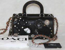 COACH Double Dinky Elvis Collage Bag Top Handle Purse Limited 16 of 63 RARE
