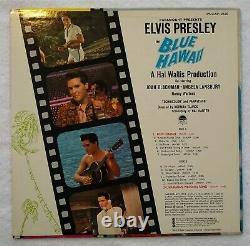 CRANIUM'S Elvis Presley BLUE HAWAII orig LIVING STEREO Lp withinner RARE HYPE