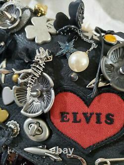 Coach Dinky Souvenir Charms Elvis Exclusive Rare Cross Body