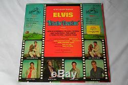 ELVIS Original 1964 SILVER TOP STEREO Kissin' Cousins LP SUPER RARE