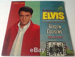 ELVIS PRESLEYKISSIN COUSINS SEALED Rare 1964 RCA Victor LP Record Album