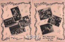 ELVIS PRESLEY 1956 MR. DYNAMITE ORiGINAL RARE'ALBUN' ERROR VERSION PROGRAM BOOK