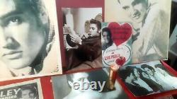 ELVIS PRESLEY 1956 RARE LIPSTICK HOUND DOG ORANGE NICE 1950s Vintage Elvis