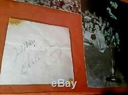 ELVIS PRESLEY 1956 SIGNED PAPER ORIGINAL VINTAGE ELVIS RARE 1950s