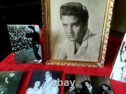 ELVIS PRESLEY 1956 SIGNED PHOTO ESTATE FIND ORIGINAL VINTAGE ELVIS RARE 1950s