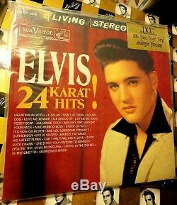 ELVIS PRESLEY 24 KARAT HITS! DCC Limited Edition Low# SEALED Mint 2LP Set RARE