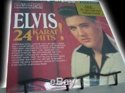 ELVIS PRESLEY 24 KARAT HITS Rare DCC LIMITED EDITION NUMBERED Sealed 2 LP Set