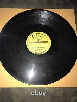 ELVIS PRESLEY 78 Blue Moon Of Kentucky / Thats All Right Sun 209 Org VG++ Rare