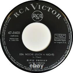 ELVIS PRESLEY 7 45 Such A Night Never Ending 1964 RCA 47-8400 MEGA RARE