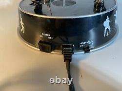 ELVIS PRESLEY ANIMATED DANCES & SINGS'68 COMEBACK LAMP Vintage Rare WORKS