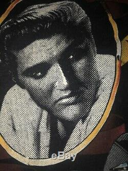 ELVIS PRESLEY And HARLEY DAVIDSON 1987 SPEED LIMIT T Shirt 1987 XL RARE VINTAGE