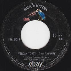ELVIS PRESLEY Asi se baila el climb Ultra Rare PS 1964 1st press PERU 45