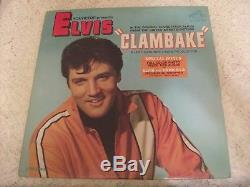 ELVIS PRESLEY CLAMBAKE 1967 RCA LPM-3893 RARE MONO PRESSING WithPHOTO PROMO