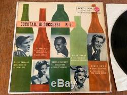 ELVIS PRESLEY -Cocktail di Successi NO. 5 ITALIAN 10 LP- RARE COVER