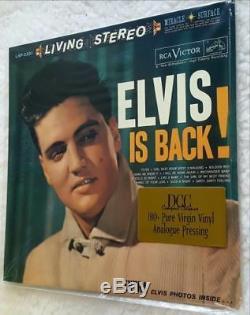 ELVIS PRESLEY ELVIS IS BACK! DCC Ltd. Ed. Low# Rare Sealed Audiophile LP OOP