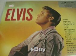 ELVIS PRESLEY ELVIS Rare DELUXE PACKAGING UK PRESSED 180 Gram LP withBonusCuts