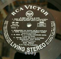 ELVIS PRESLEY El rock and roll de Elvis RARE SPANISH LP VINYL 1968 STEREO RAREST