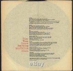 ELVIS PRESLEY Elvis Christmas Album LOC 1035 w RARE GOLD STICKER 1957 Vinyl ORIG