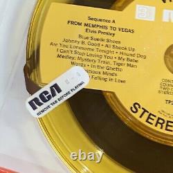 ELVIS PRESLEY FROM MEMPHIS TO VEGAS Reel To Reel 3 3/4 ips 4 TRACK EX Rare NEW