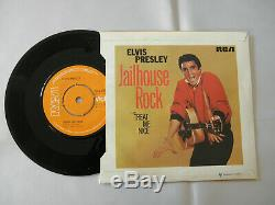 ELVIS PRESLEY GOLD 16 NUMBER ONE'S BOX SET RARE 7 VINYL'S 1957 to 1970 RCA EX+