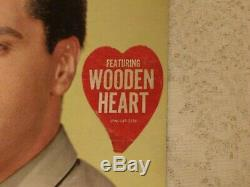 ELVIS PRESLEY G. I. BLUES 1960 RCA LPM-2256 WithRARE WOODEN HEART STICKER $600 BK