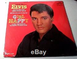 ELVIS PRESLEY Girl Happy (Rare Rock N Roll Rockabilly LP Album) RCA SEALED 1965