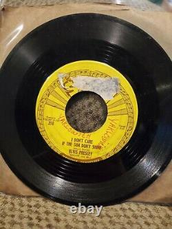 ELVIS PRESLEY Good Rockin' Tonight SUN 210 45 rpm RARE ORIGINAL WITH PUSH MARKS