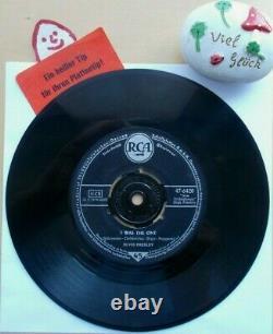 ELVIS PRESLEY Heartbreak HotelI Was The OneRCA 47-6420 s1 Label dicke Schrift