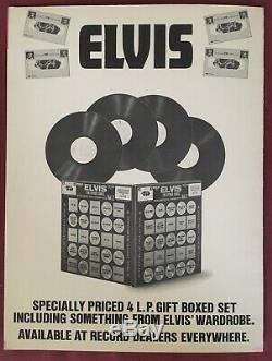 ELVIS PRESLEY In Person Orig. 1970 2LP WITH RARE EXTRAS! Menu, Tour Book, Poster