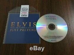 ELVIS PRESLEY Just Pretend PROMO CD RARE EXCLUSIVE Instrumental Acapella