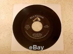ELVIS PRESLEY LITTLE SISTER 1961 RCA 47-7908 WithRARE ERROR PICTURE SLEEVE