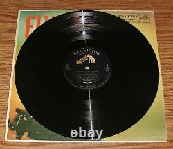 ELVIS PRESLEY LPM-1382 FIRST PRESSING OF COVER & RECORD 1S/1S Super Rare Ad Back