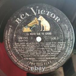 ELVIS PRESLEY La mujer que yo adoro RARE URUGUAY LP