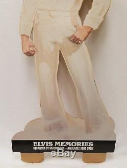 ELVIS PRESLEY Memories RARE VINTAGE McCormick Decanter Cardboard Store Display
