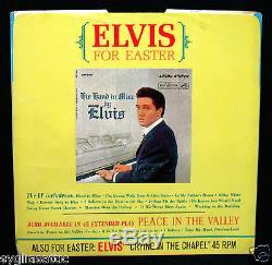 ELVIS PRESLEY-Milky White Way-Mega Rare Picture Sleeve-RCA VICTOR #447-0652