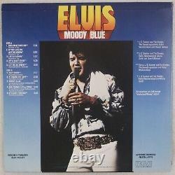 ELVIS PRESLEY Moody Blue US RCA AFL1-2428 Black Vinyl Rare LP Deep Groove