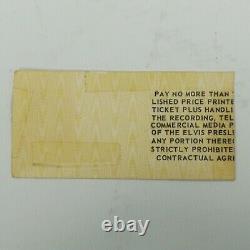 ELVIS PRESLEY RARE CUMBERLAND COUNTY CIVIC CENTER UNUSED TICKET-AUG 17&18th 1977